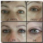 Makijaż permanentny - kreska górna zagęszczająca
